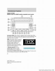 how to download repair manuals 2012 lincoln mkx navigation system lincoln mkx 2007 owners manual