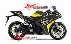 Modifikasi Lu Nmax by Modif Yamaha R25 Warna Kuning Kombinasi Hitam Lumayan D