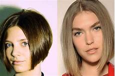 smooth middle part hairstyles are in especially the middle part bob step into spring