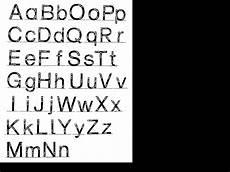 buchstaben alfabet