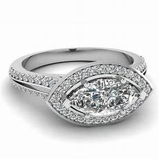 white gold marquise white diamond engagement wedding ring in pave fascinating diamonds