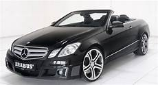 Brabus Does The New Mercedes E Class Convertible