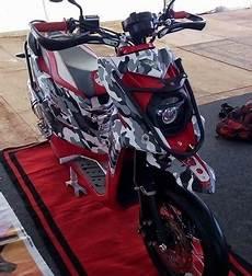 X Ride 125 Modif Supermoto by Membuat Tilan Yamaha X Ride Ala Supermoto