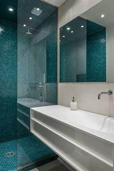 projet hl atelier delphine carrere salle de bain bleue