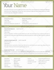 20 awesome resume cv templates mow design graphic