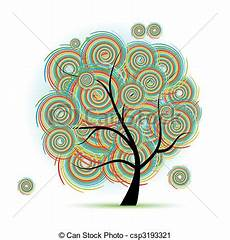 clipart alberi arte albero fantasia clip vettoriale cerca