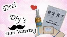 Ideen Zum Vatertag - diy 3 vatertags geschenk ideen vatertag simple diy