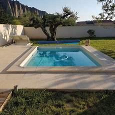 piscine prix tout compris mini piscine canea coque polyester 4x3 5m fond plat 1 50m
