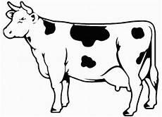 malvorlagen zum ausdrucken ausmalbilder kuh kostenlos 4