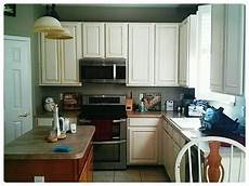 Painted Kitchen Furniture Kitchen Cabinet Makeover With Sloan Chalk Paint