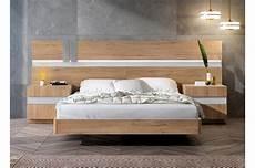 lit adulte complet en bois chevets t 234 te de lit led