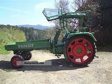 Fendt 250 Gt With Bridge 1975 Agricultural Tractor Photo
