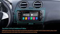 7 quot android 7 1 radio gps hdmi car dvd player for seat