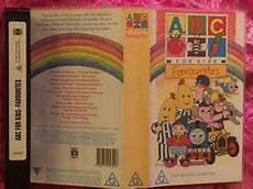 abc for favourites pal vhs abc for kids favourites your favourite characters vhs video tape pal 163 10 30