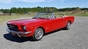 19645 Ford Mustang Convertible 64 1/2 F Code 260 PS PB A