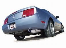 best exhaust borla ford mustang v6 2005 2009 rear