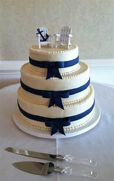 Nautical Wedding Cake Ideas