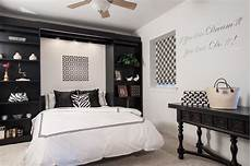 Black And White Small Bedroom Ideas by Black And White Office Guest Room Contemporary Bedroom