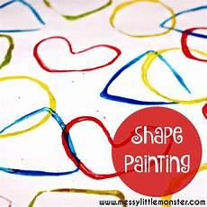 worksheets for preschool 15422 2d shape painting activity painting activities activities for toddlers 2d shapes