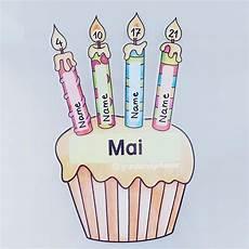Fertig Ist Der Geburtstagskalender Ich Habe Alles Einzeln