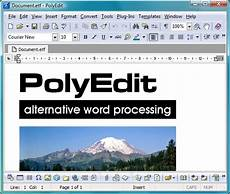 polyedit file extensions