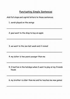 worksheets on punctuation and capital letters 20863 stops and capital letters by ahorsecalledarchie teaching resources tes
