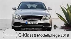 Neue C Klasse 2018 - 2018 mercedes c klasse modellpflege erste infos zu