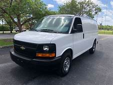 2012 Used Chevrolet Express Cargo Van RWD 2500 135 At A