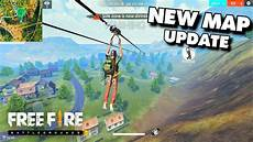 winter update free fire new map update free battlegrounds gameplay android