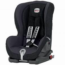 britax duo plus forward facing isofix car seat black