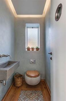 Kleines Gäste Wc Gestalten - g 228 ste wc mit deckenbeleuchtung im l 228 ndlichen stil
