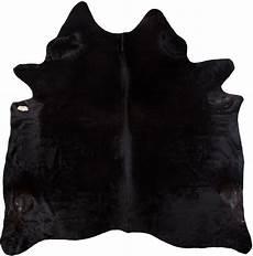 rinderfell teppich luxor living teppich rinderfell schwarz uni 3 5 m 178 felle