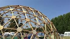 geodätische kuppel gewächshaus the wooden dome selbstgebaute holzkuppel auf dem ccc15