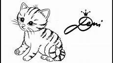 pin deni zeichnet auf katze zeichnen lernen katzen