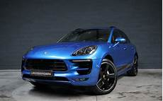 Porsche Macan Bleu Autohandel Leimbergen
