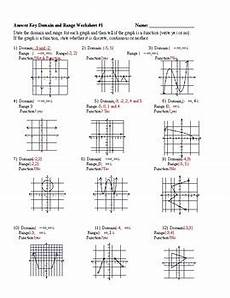 domain and range practice worksheet by report card