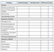 free 11 household budget sles in docs sheets excel ms word numbers