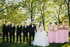 pink and black wedding party elizabeth designs the wedding blog