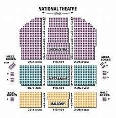 Mamma Seating Chart Mamma National Theatre Tickets Seating Chart