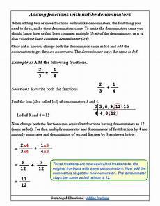 fraction worksheets adding unlike denominators 3843 adding fractions with unlike denominators worksheets pdf girtheinw44 blogcu