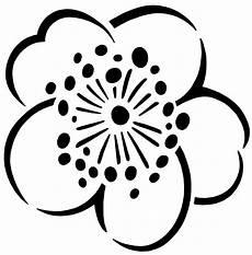 Malvorlagen Blume Einfach Blumen An Der Wand Kostenlose Schablone Diy Academy