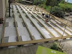 Terrasse En Bois Sur Parpaings De 8m Par 4m Terrasse
