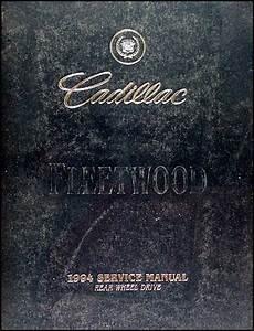 service and repair manuals 1994 cadillac fleetwood auto manual 1994 cadillac fleetwood brougham repair shop manual original