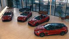 Whole Aston Martin Vanquish Zagato Collection Going To One