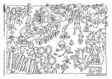 Malvorlage Jahreszeiten Mandala Als Pdf Natur Garten Gartenarbeit Sommer