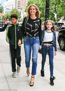 Heidi Klum Bonds With Leni Johan And Henry During Family
