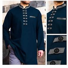 jual baju koko akhtar lengan panjang warna tosca di lapak zona jaket bola zonajaketbola