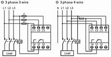 Electrical Page Difference Between Wiring Of 3 Phase 3