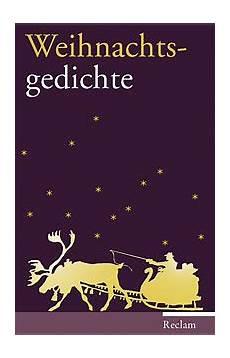 reclam verlag weihnachtsgedichte