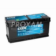 Batterie Agm 12v 100ah 950a Proxam